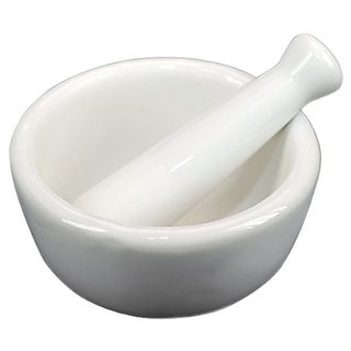 Fox Run Mini Mortar And Pestle - Porcelain