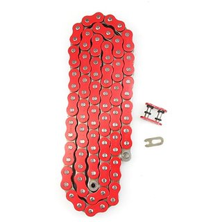 Factory Spec (FS-530-OR-128) Red 530-Pitch 128-Link Precut O-Ring Chain