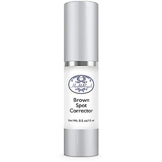 HealthRoyals Best Dark Spot Removal Skin Brightner ,Reduces Age Spots, Brown(Liver) Spots-Even Light Acne Scars-All Fade