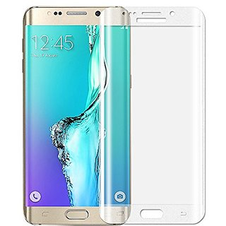 S6 Edge Plus Screen Protector,ALCLAP Premium Tempered Glass Full Coverage Protection High Definition(HD) 3D Curved Film