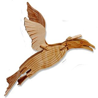 3-D Wooden Puzzle - Small Tern -Affordable Gift for your Little One! Item #DCHI-WPZ-E024