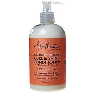 Shea Moisture Conditioner Curl & Shine 13Oz Coconut & Hibiscus (2 Pack)