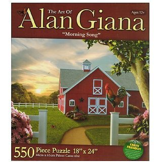 Alan Giana - Morning Song - 550 Pc Puzzle