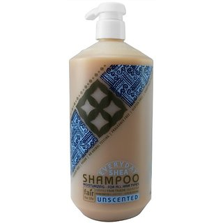 Alaffia Everyday Shea Moisturizing Shampoo Usncented