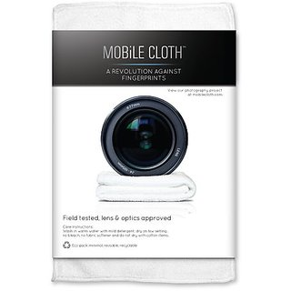 Mobile Cloth CL5LB Classic Lens Cloth - 5 Pack (White)