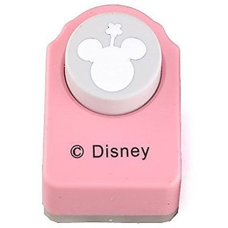 Pink Paper Punch of Minnie Mouse Logo