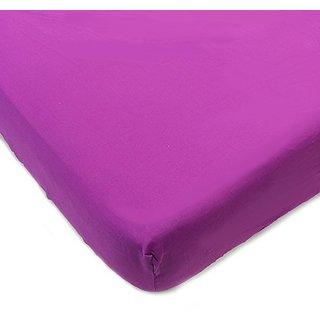 One Grace Place Terrific Tie Dye Purple Crib Sheet, Purple