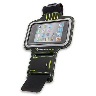 iFrogz IFZ-ARMBAND-BLK Motion Armband for iPhone 4/4S - 1 Pack - Carrying Case - Retail Packaging - Black