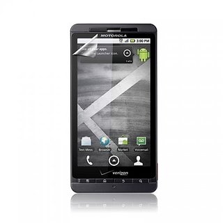 ScreenWhiz HD Anti-Glare Screen Protectors for DROID X MB810 - 3 Pack - Retail Packaging - Black