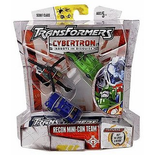 Transformers Cybertron Scout Jolt, Six-Speed And Reverb