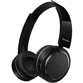 8118f3b0e5f Panasonic Wireless Bluetooth On Ear Stereo Headphones with Mic/Controller  RP BTD5 K Black 40