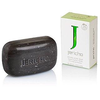 Natural Acne Treatment Soap By Jericho (4.4 Oz / 125 Gr)
