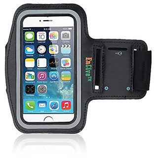 iPhone 6 / 6S Armband, EnGive Anti-slip Sports Armband for 4.7 inch iPhone 6 / 6s (Black)