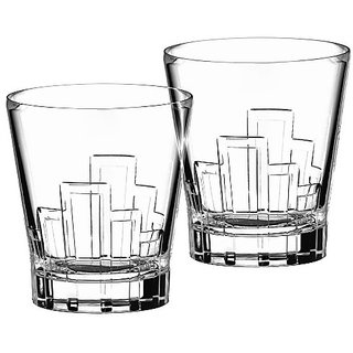 Riedel Vinum Leaded Crystal Column Design 13.25 Ounce Tumbler, Set Of 2