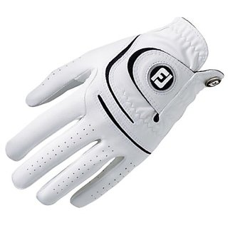 FootJoy WeatherSof Mens Golf Glove Left Hand Regular White (XX-Large)