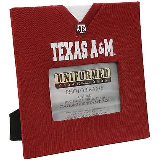 UNIFORMED Texas A and M University Picture Frame, 4 by 6-Inch