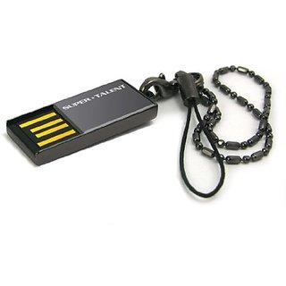 Super Talent STU16GPCN Pico C 16Gb Usb Flash Drive - Nickel