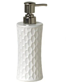 Spectrum Diversified 10A111 Honeycomb Soap Pump, Large, White