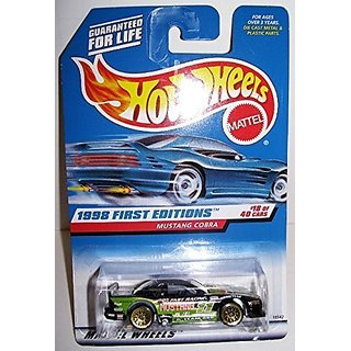 1998 First Editions Hotwheels Mustang Cobra