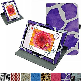 Microsoft Surface 3 Rotating Case,Mama Mouth 360 Degree Rotary Stand With Cute Pattern Cover For 10.8