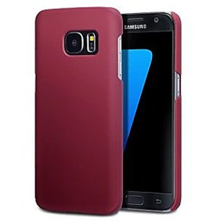 Galaxy S7 Case, Terrapin [Extra Slim Fit] Hybrid Rubberized [Red] Protective Hard Case for Samsung Galaxy S7 - Red