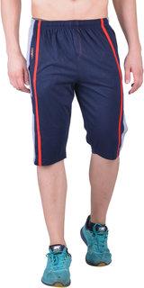 Force Go Wear Navy Club Wear Shorts for Men