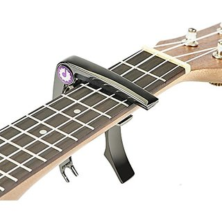 Artempo Guitar Capo, Works Also For Ukulele, Banjo And Mandolin - No Scratches, No Fret Buzz, Easy To Move, Trigger Move