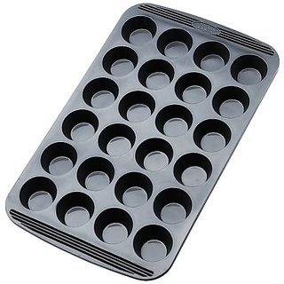 24 Cup Mini Muffin Pan Non Stick