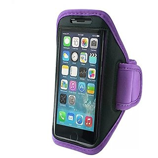 Sports Armbands- Lovett Active Armband for Iphone 6 Plus, and Samsung Note 4, Note 2, Note 3- Purple
