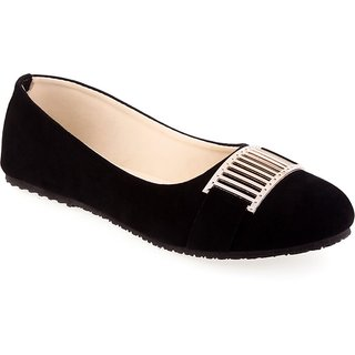 Aashka Women's Black Bellies