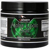 AI Sports Nutrition Alpha Lipoic Acid 300mg, 180 Count