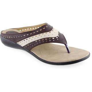 Aashka Women's Brown Flats