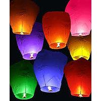 Sky Lanterns - Pack Of 100-Assorted Color