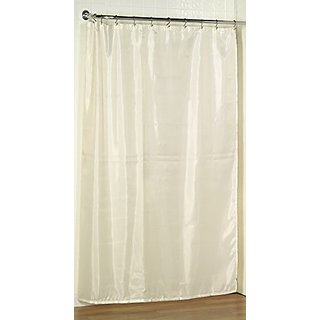 Carnation Home Fashions 70 Inch By 78 Fabric Shower Curtain Liner X Long Ivory