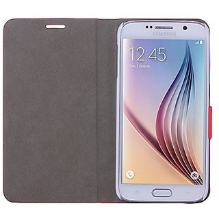 WAWO Samsung Galaxy S6 Case, Soft and Delicate Texture PU Leather Case Cover for Samsung Galaxy S6 with Magnet Closure