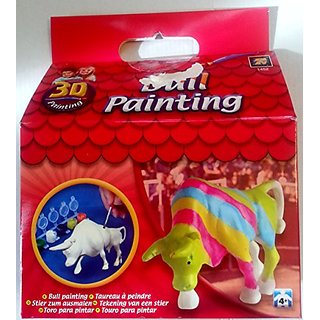 3d Painting Bull Painting
