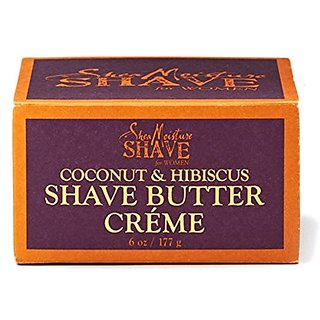 Shea Moisture Shave Cream For Women Coconut And Hibiscus, 6 Ounce