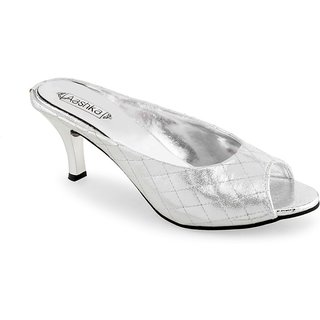 Aashka Women's Silver Heels