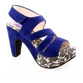 Aashka Women's Blue Heels