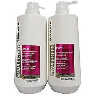 Goldwell Dualsenses Color Shampoo & Conditioner Duo (25.4 oz each)