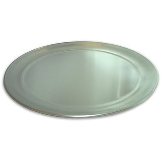 Alegacy A15 Eagleware Professional Aluminum Sloped Rim Pizza Tray, 15-Inch