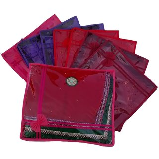 Kuber Industries Non Wooven Saree Cover Set Of 8 Pcs Sc752