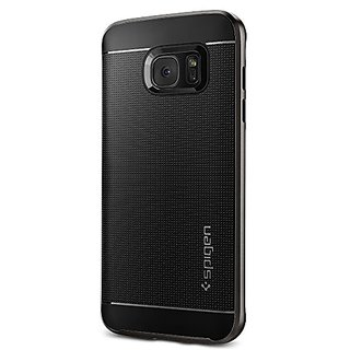Spigen Neo Hybrid Galaxy S7 Edge Case with Flexible Inner Protection and Reinforced Hard Bumper Frame for Samsung Galaxy