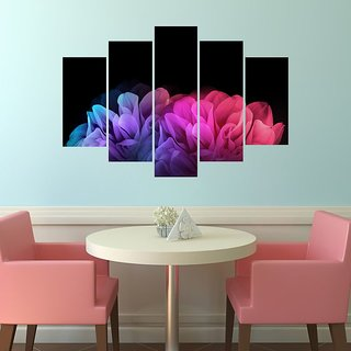 Impression Wall Colorful Roses Wall Sticker