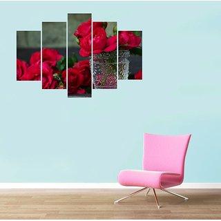 Impression Wall Rose Wall Sticker
