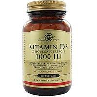 Vitamin D3 (Cholecalciferol) 1,000 Iu 100 Sgels