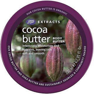 Boots Extracts Cocoa Butter Body Butter - 6.7 oz