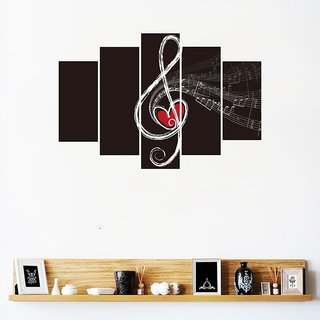 Impression Wall Music Love Wal Sticker