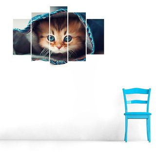 Impression Wall Cat High Cut Out