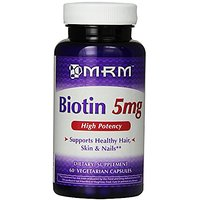 MRM Biotin 5mg, 60 Vegetarian Capsules